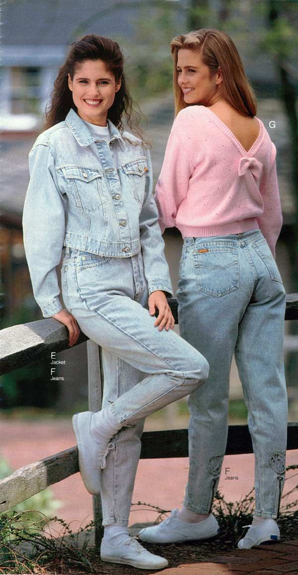 women's fashion from a 1990 catalog 1990s fashion