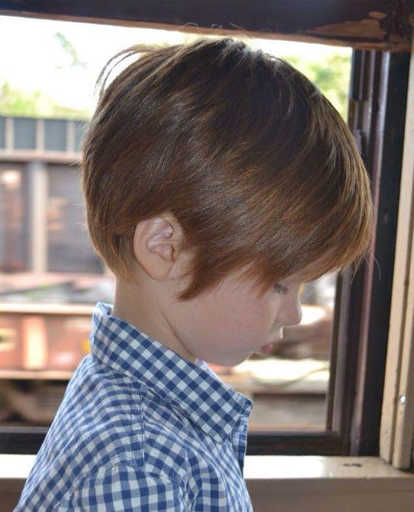 boys-side-swept | Kids hair cuts, Toddler boy haircuts, Boy haircuts long