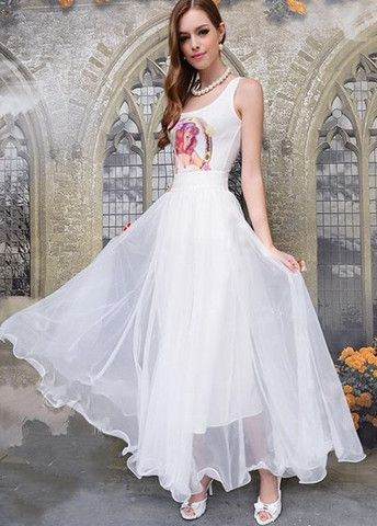 Romantic Mid Waist Layered White Ball Gown Skirts – teeteecee - fashion in style