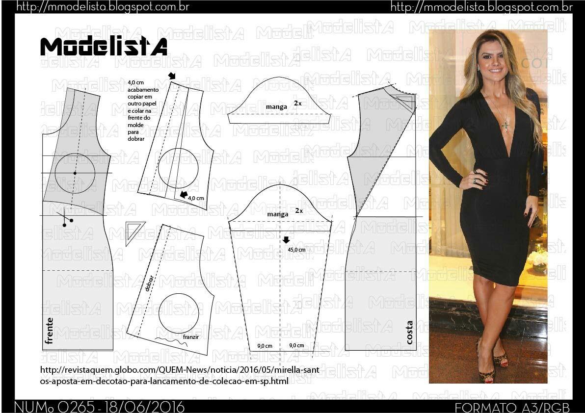 Vestido | eli | Costura, Vestidos y Patrones de costura