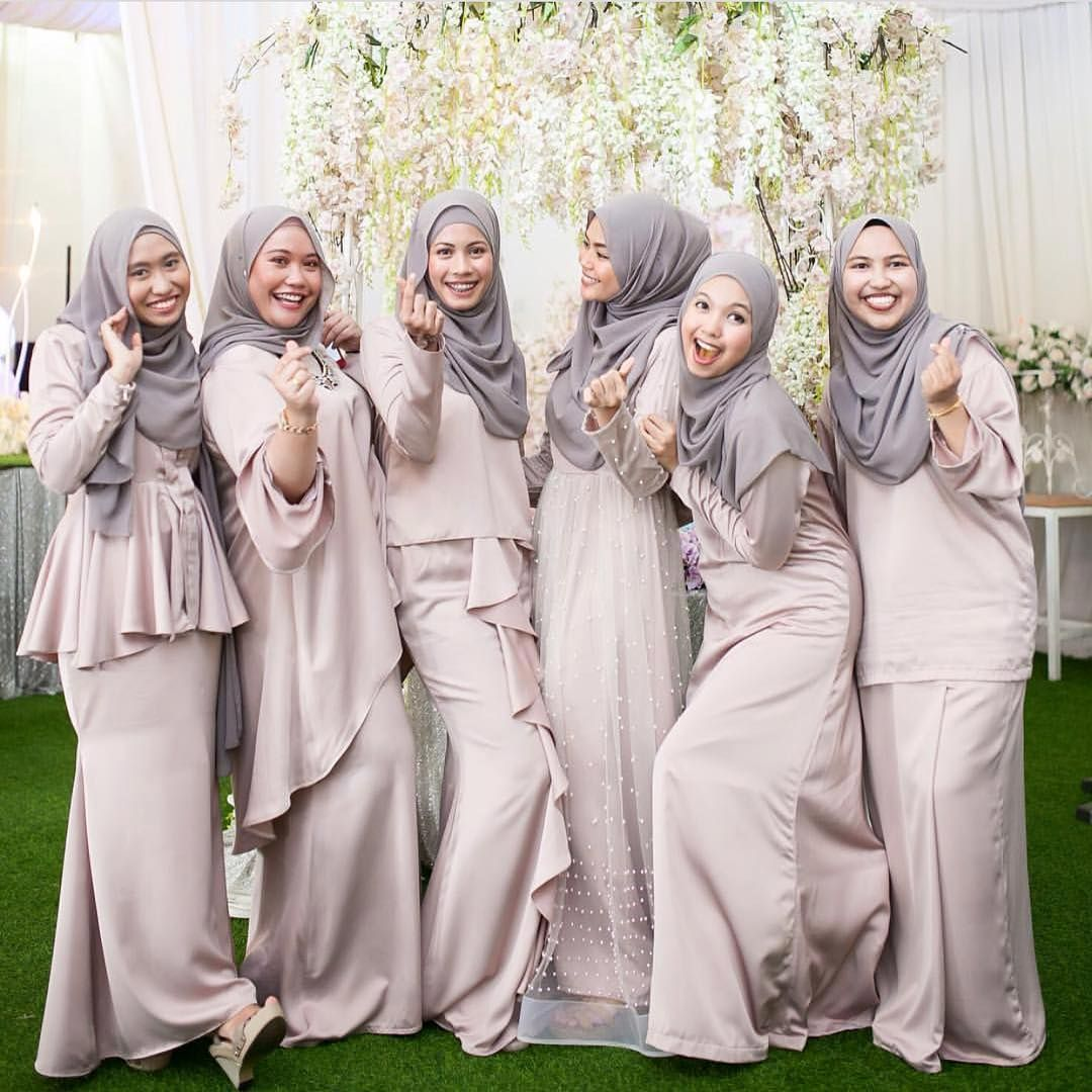 Repost @ynasakinah  Gaun pengiring pengantin, Pengiring pengantin