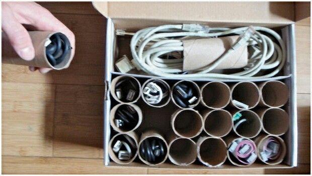 Cables recogidos