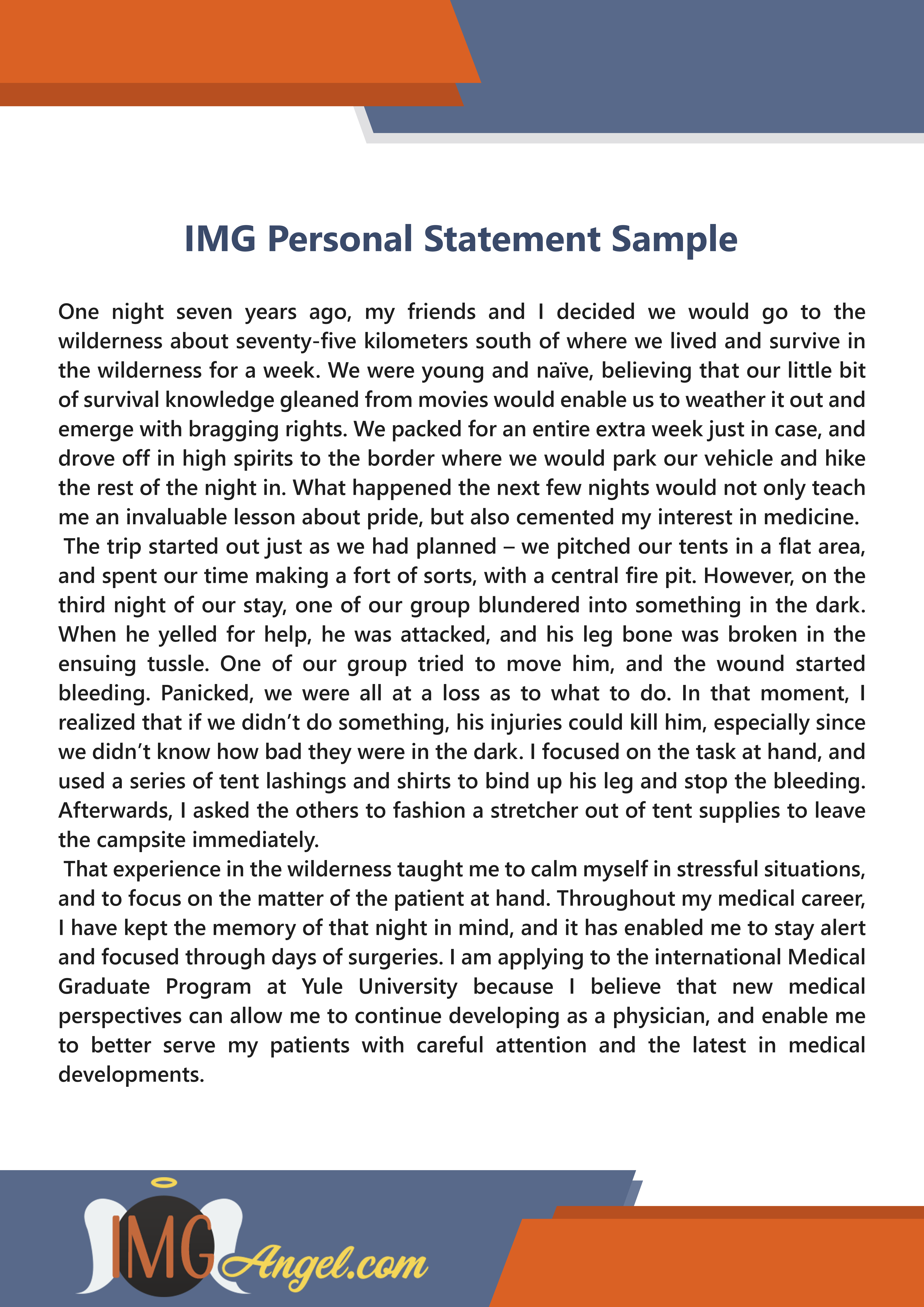 Don T Know How To Write Your Personal Statement Thi Img Sample Might Be Able Help Check Mor Writing Service Person A For Medical Residency