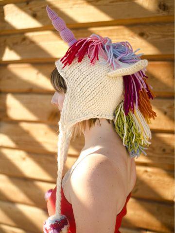 18aa42041d5 True Blue Me   You  Knit Unicorn Hat Pattern by Brittany Tyler from Stix  Yarn