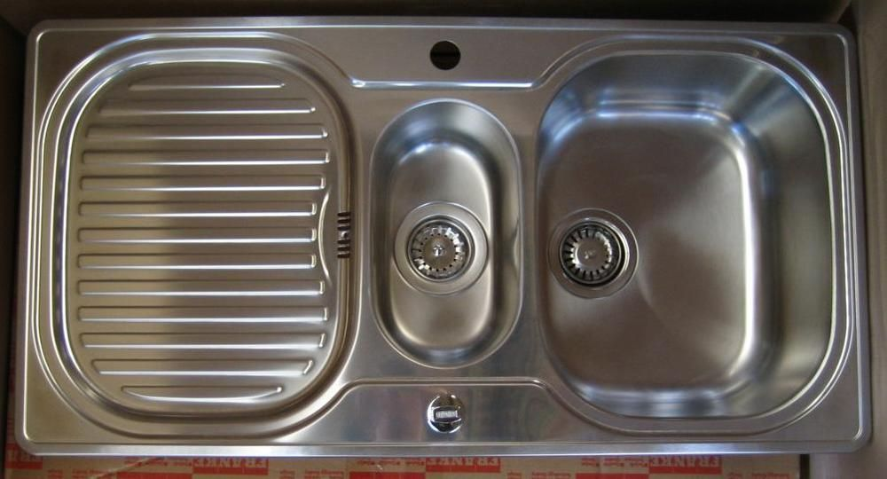 FRANKE Compact Spüle 96,5 x 50 cm Küchenspüle Einbauspüle - keramik waschbecken k che