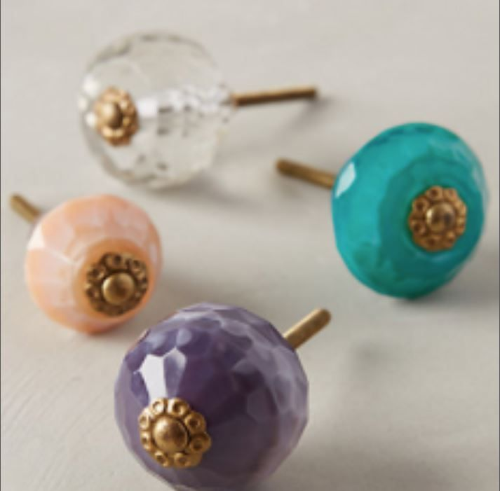 Adding great hardware to your furniture is key - it instantly boosts any piece's style in minutes.  I'm obsessive about picking just the right knob for my built-in designs, and if a piece of furniture arrives with the wrong style knob, it is changed immediately!  XO Lara  www.laramichelle.com