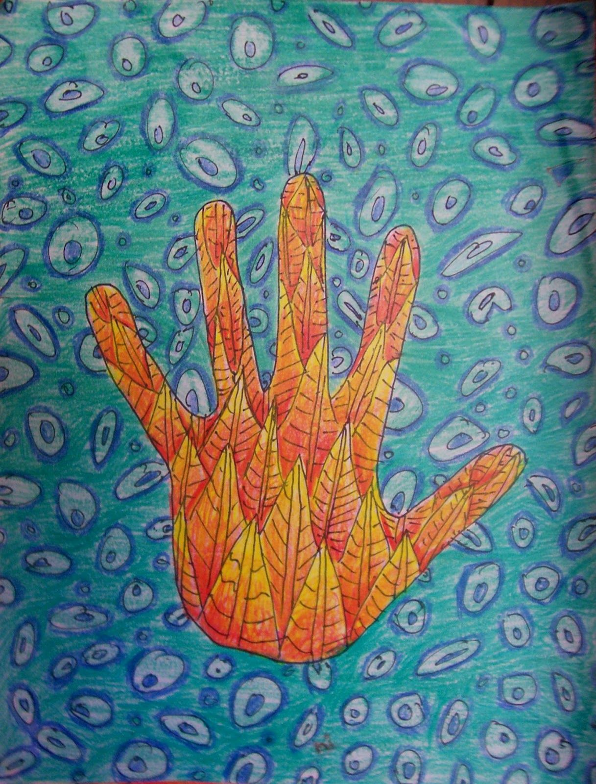 Color value art projects - Texture Hands Need Previous Knowledge Of Value And Color Blending To Do This Lesson