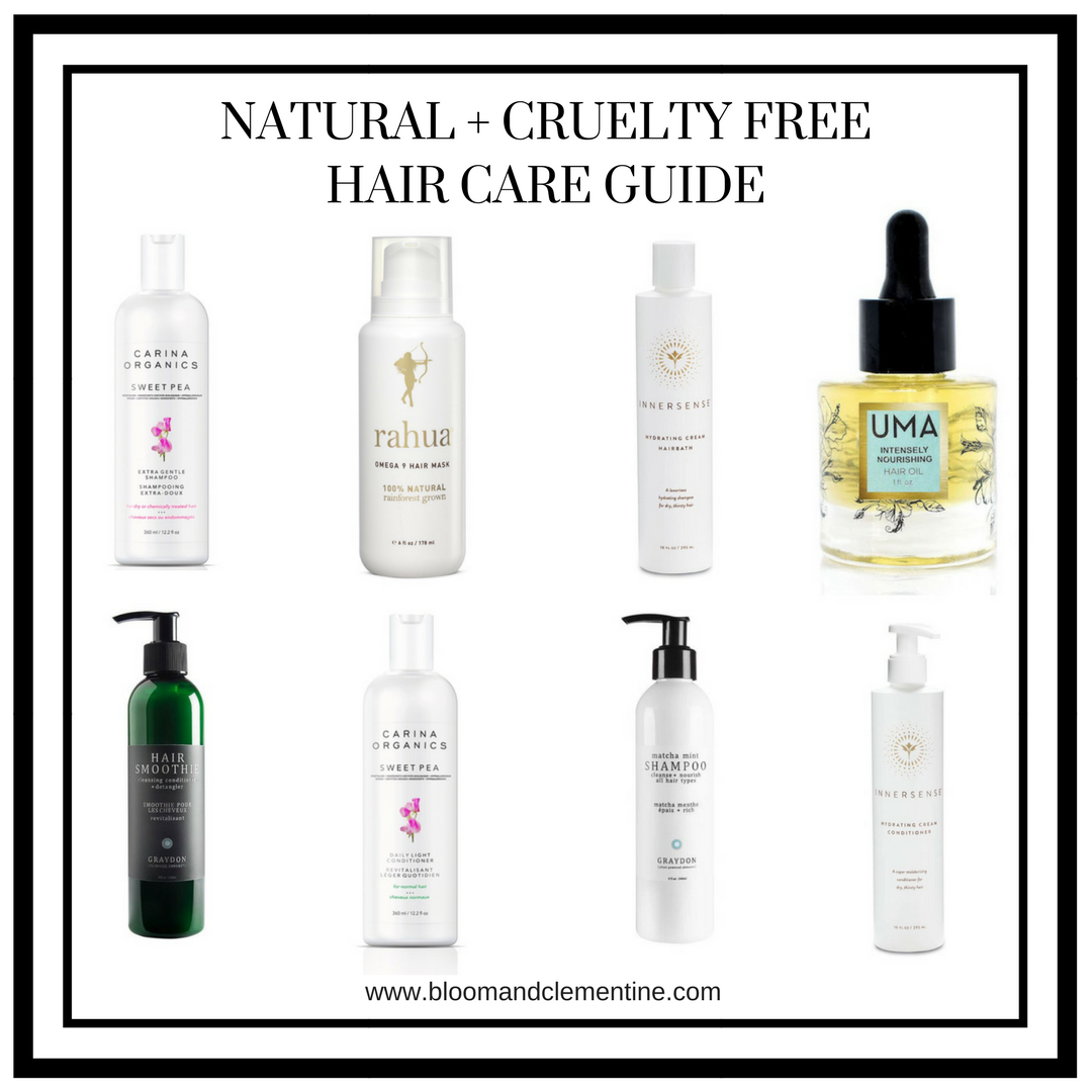 Natural + Cruelty Free Hair Product Guide Free hair