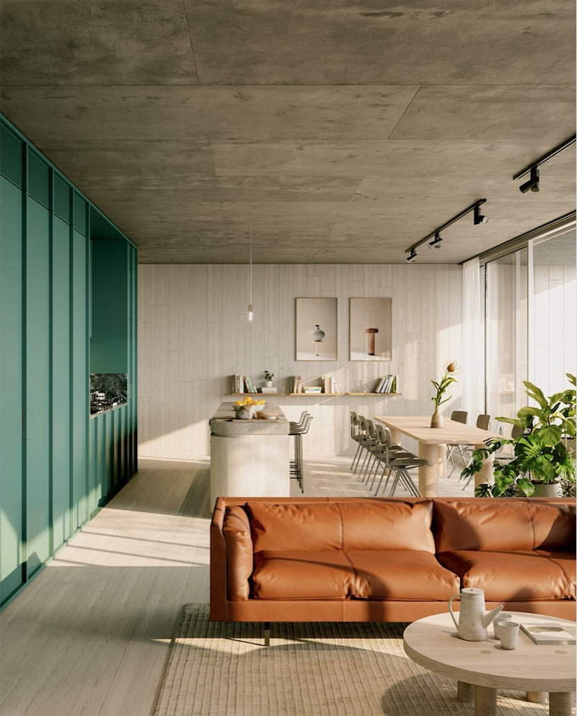 Interior Color Trends 2020 Brown Caramel Interiors And Design Trendy Interior Design Colorful Interiors Best Interior Design