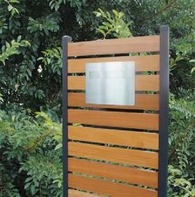 Instyle Letterboxes Merbau Timber Letterboxes Diy Outdoor