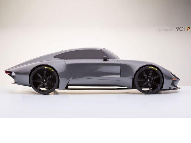 Reinterpretation of the 911 by industrial designer Ege Arguden.  Laurent