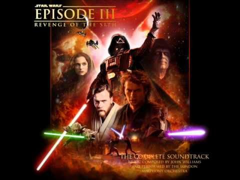 Star Wars Revenge Of The Sith Complete Soundtrack Fighting The Count Youtube Star Wars Film Star Wars Episodes Star Wars Movies Posters