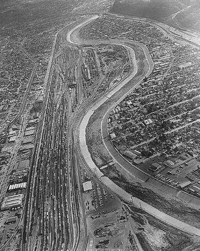 Taylor Yard Ca 1962 Railroad Photos Aerial View Railroad History