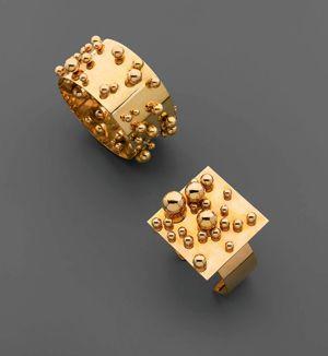 Pol Bury #jewelry #gold #ring