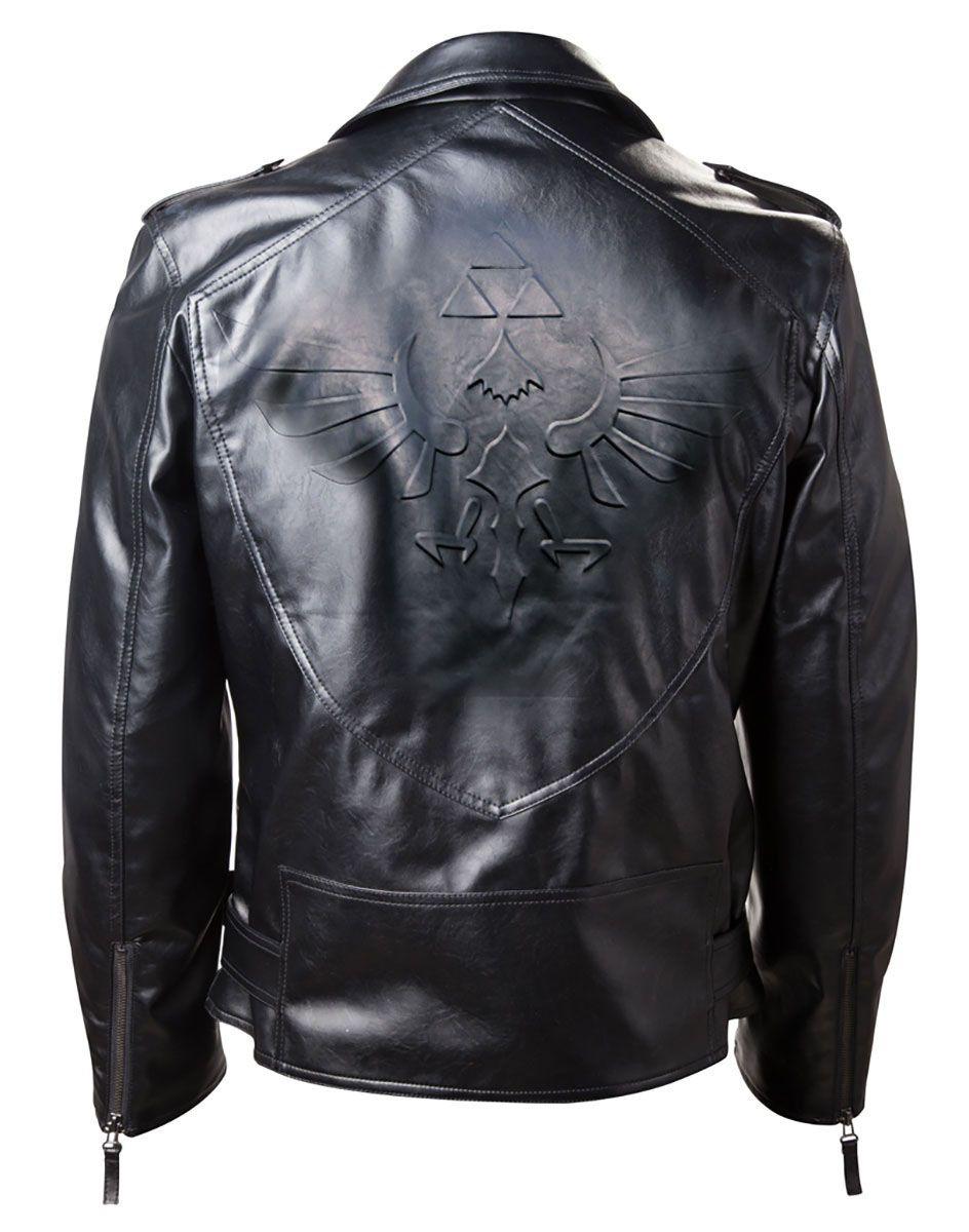 Hylian Biker Jacket Legend of zelda, Jackets, Leather jacket