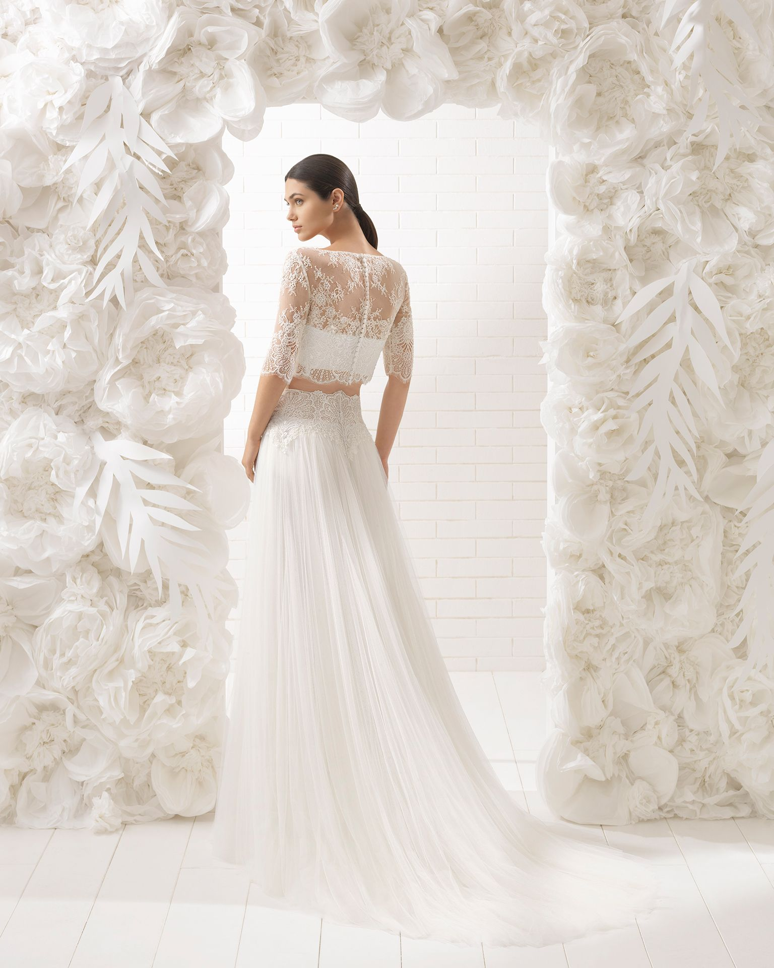 Lindsay bridal collection rosa clará soft collection