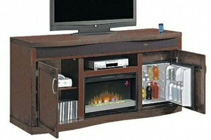 Fireplace Tv Stand And Fridge Combo For The Home In 2019