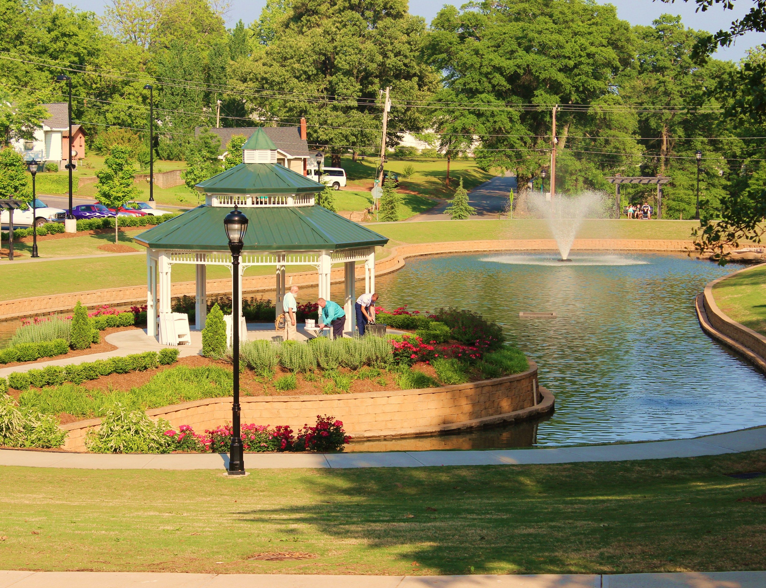 Pin by Robin Giddley on Greer, SC | Park weddings, Park ...