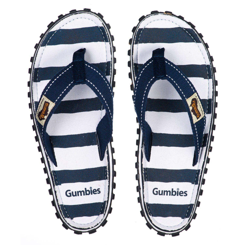 Gumbies Slides Navy Zehentrenner Flip-Flops Sandale navy