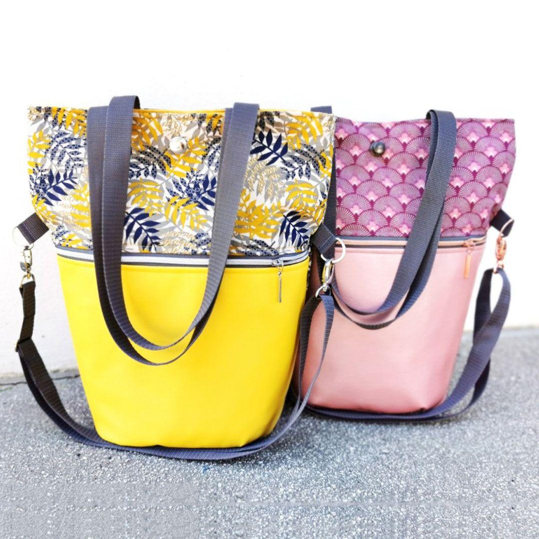 Patron de couture gratuit: Shopper Teona   Magazine Snaply   – Nähen