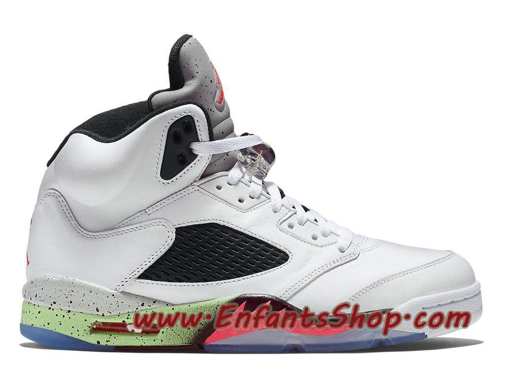 Air Jordan 5 Retro Chaussures Basket Jordan Pas Cher Pour Homme Infrared 23  136027-115