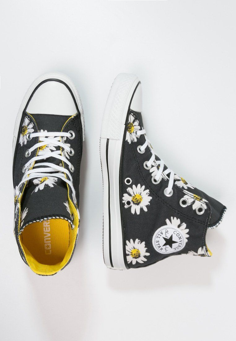 Converse CHUCK TAYLOR ALL STAR - Korkeavartiset tennarit - black citrus -  Zalando.fi 60c71120cc