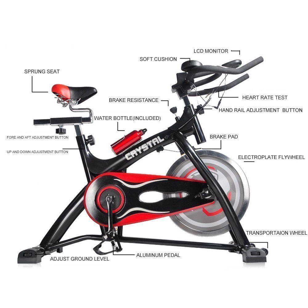 Crystal Fit Exercise Bike Crystal Sj32411home Use Exercise Bike