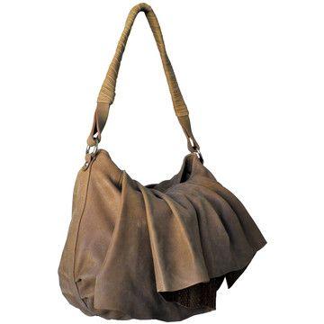 Leather Shoulder Whiskey Bag by Daniel Wenger