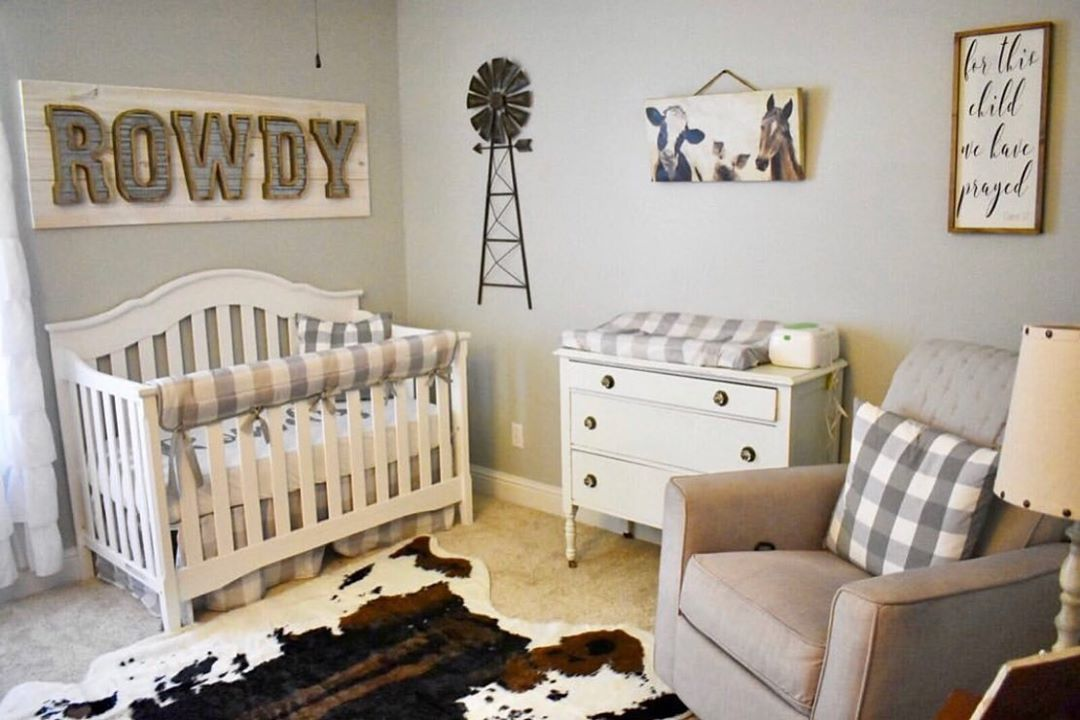Carousel Designs On Instagram The Cutest Buffalo Check Nursery We Are Loving This Theme Thanks F Baby Boy Room Nursery Nursery Baby Room Toddler Boys Room