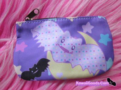 Pastel Spooky Bats Wallet