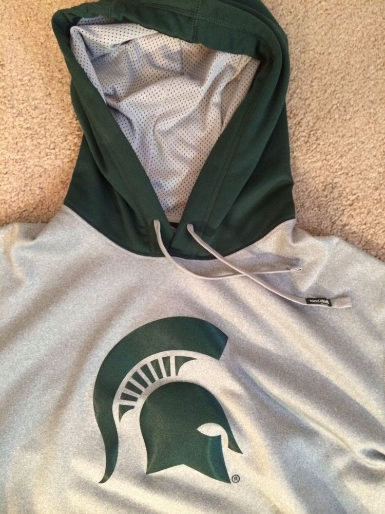 Nike Michigan State Spartans Therma Fit Performance Hoodie Size Xl