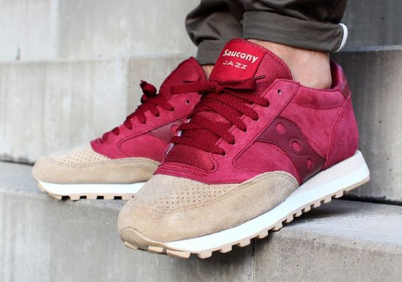 Saucony Red Sneakers