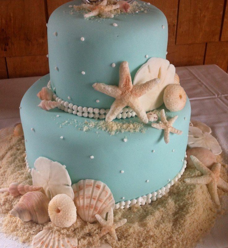 Wedding Cakes Pictures Seashell