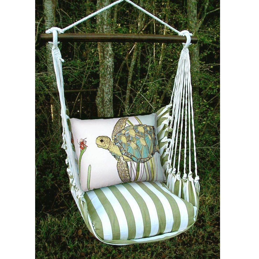 Sea turtle hammock outdoor swing chair outdoor decor pinterest