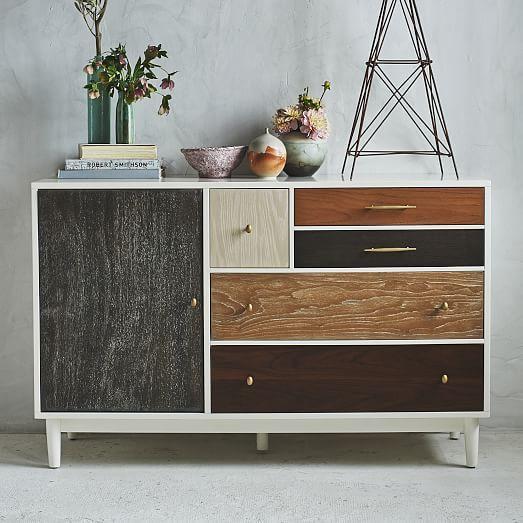 Patchwork Dresser/Media Console, Multi | Dresser, Consoles and ...