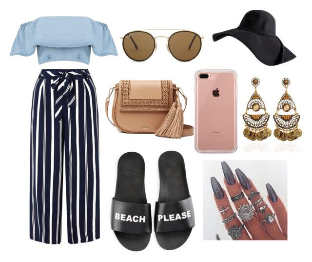 """Sem título #221"" by thaiafonsecas ❤ liked on Polyvore featuring Monsoon, Schutz, Kate Spade, Ray-Ban and Belkin"