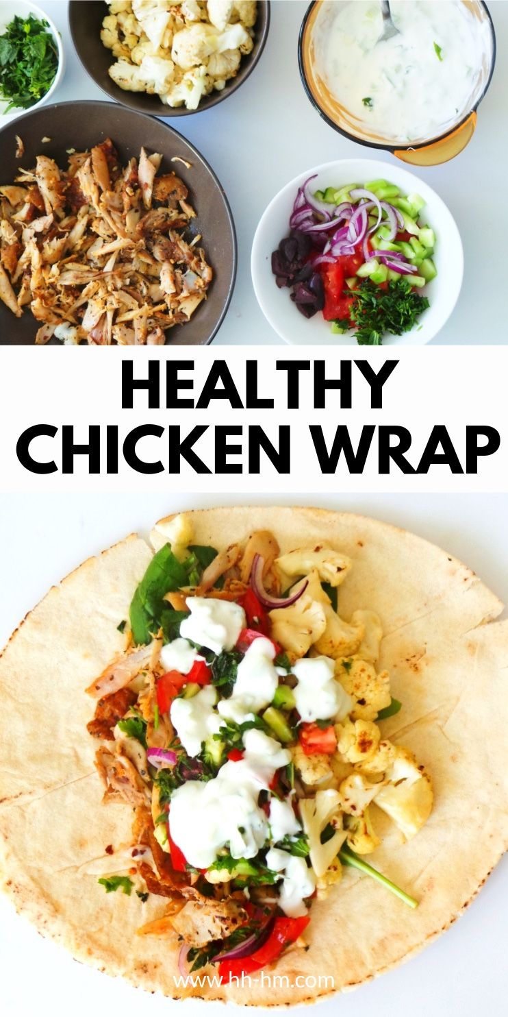 Photo of Easy Chicken Wrap