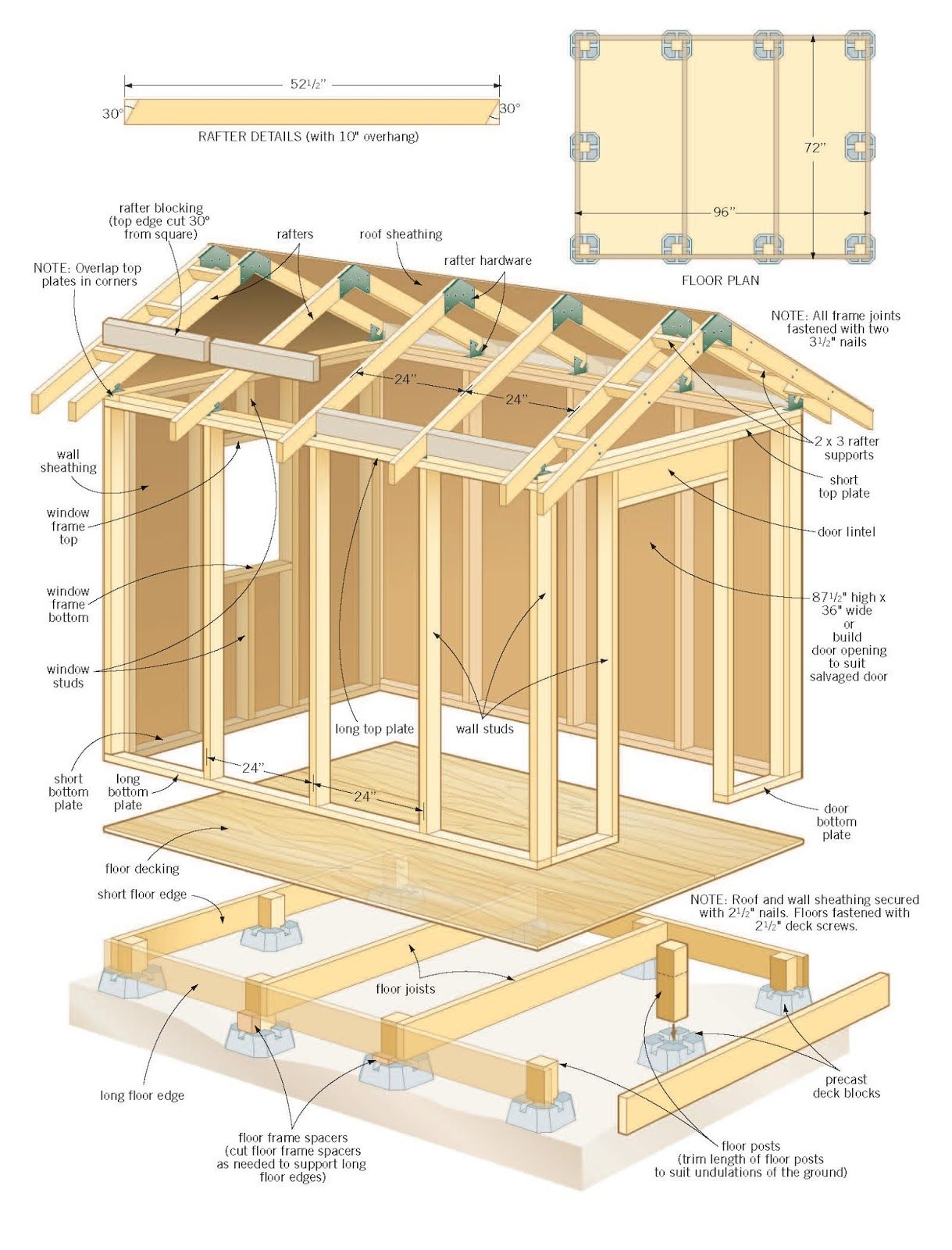 Shed Plans 14 X 36 12 Jpg 1 219 1 600 Pixels Shed Design Shed Plans Wood Projects Plans