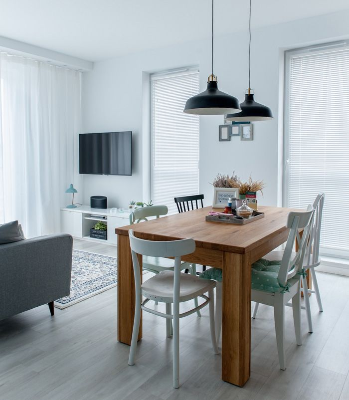 32 More Stunning Scandinavian Dining Rooms: A Scandinavian Style Apartment In Poland