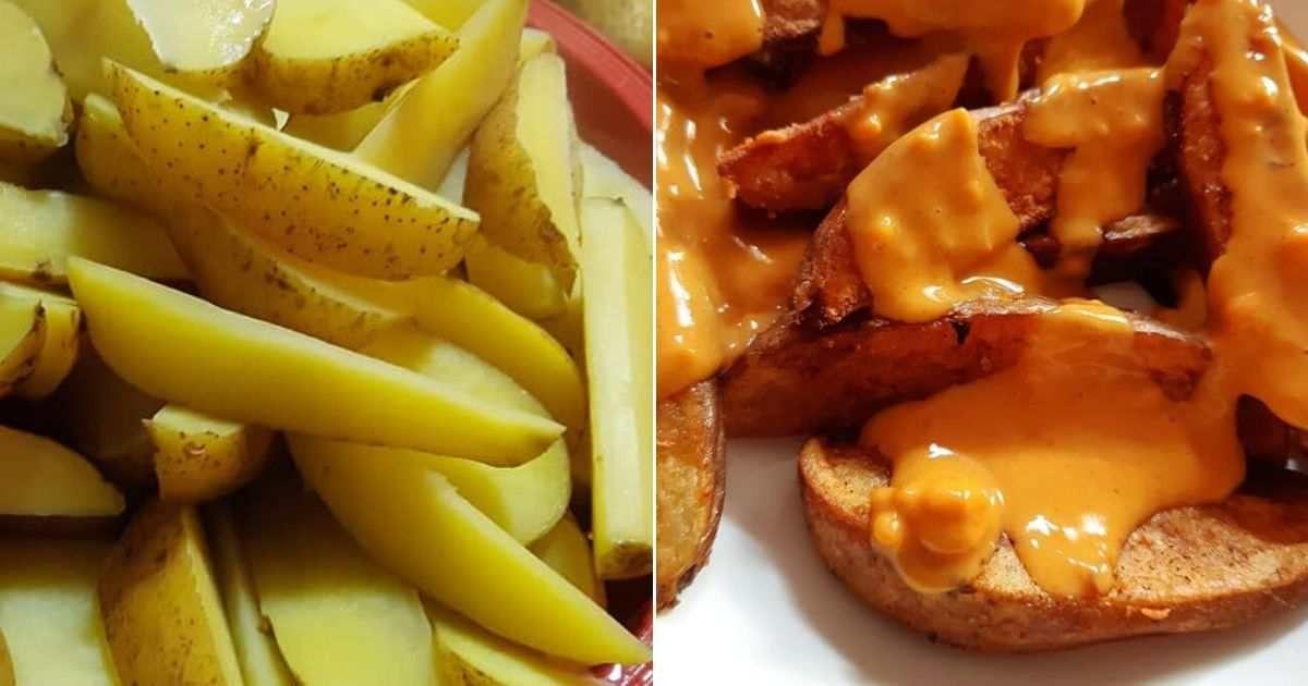 Resepi Kentang Cheesy Wedges Ala Kfc Paling Sedap Dan Mudah Kentang Kfc Makanan