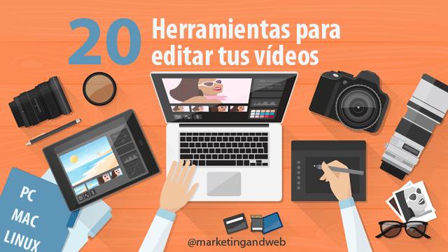 Mejores Programas Para Crear Y Editar Vídeos En Pc Mac Y Linux Editar Videos Gratis Edicion De Video Manejo De Redes Sociales