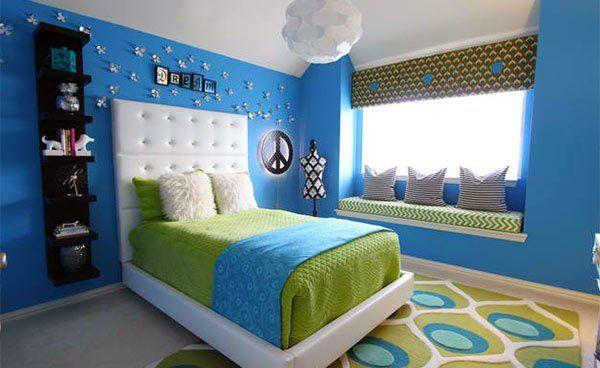15 Killer Blue and Lime Green Bedroom Design Ideas images