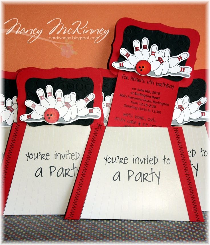kids bowling party ideas | kids bowling party | Card Worthy ...