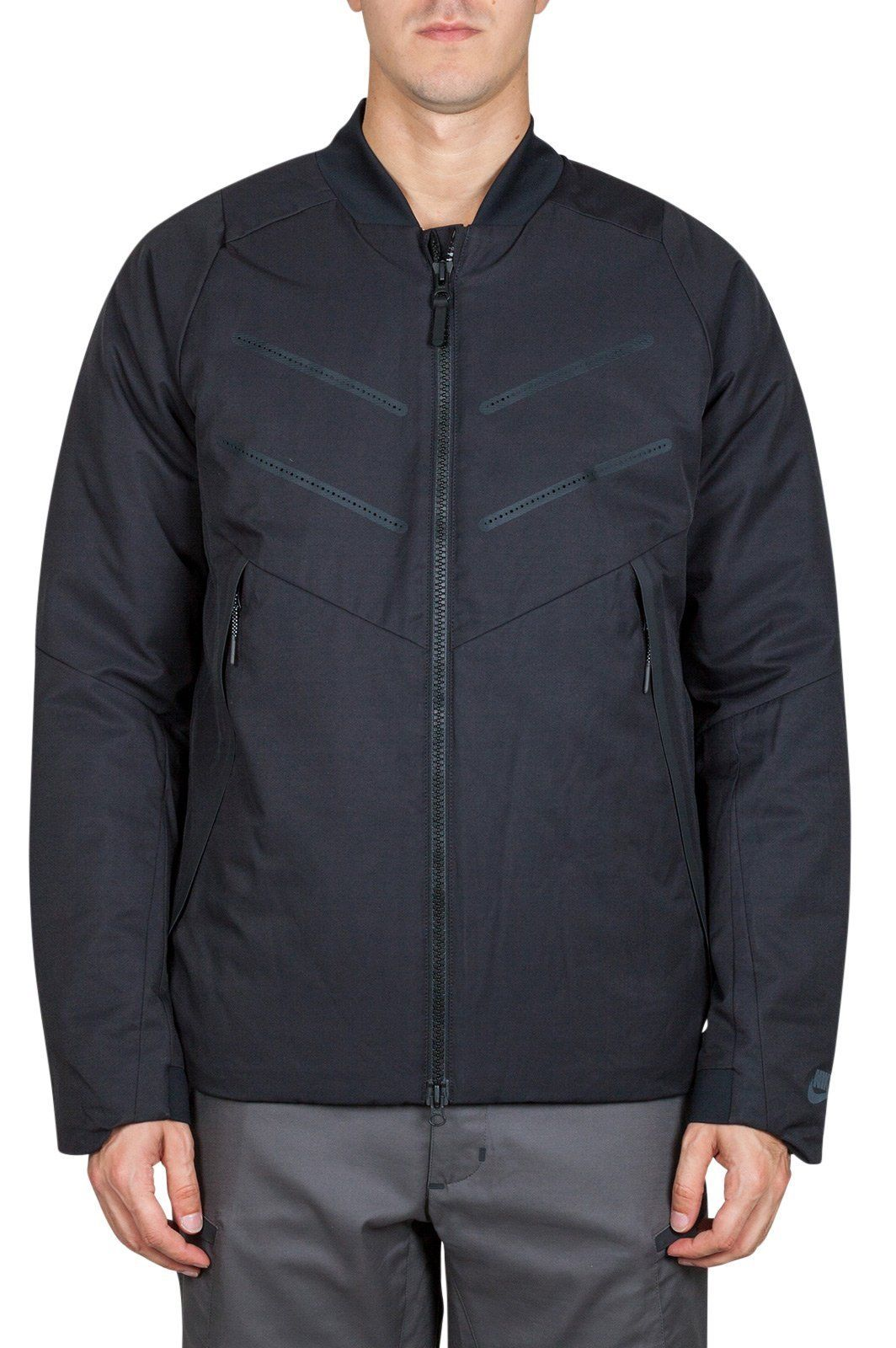 efbc4d411858 The Nike Sportswear AeroLoft Bomber Men s Jacket offers lightweight defence  against the cold. It features