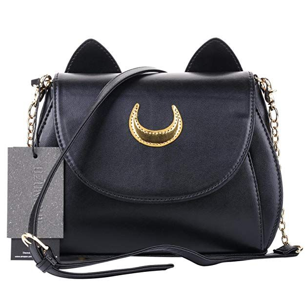 f63069c6cc4c QZUnique Women s Summer Fashion Top Handle Cute Cat Cross Body Shoulder Bag  Silver  Handbags  Amazon.com