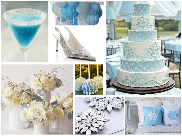 something blue inspiration bridal shower decorationsbridal