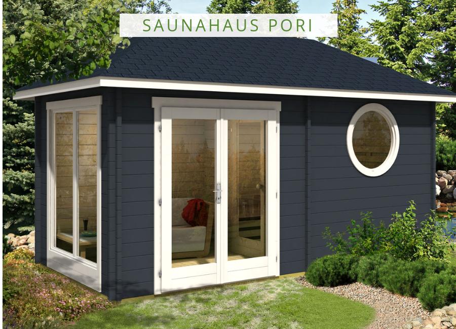 Saunahaus Pori-70 | Eine Sauna für den Garten | Garage doors ...