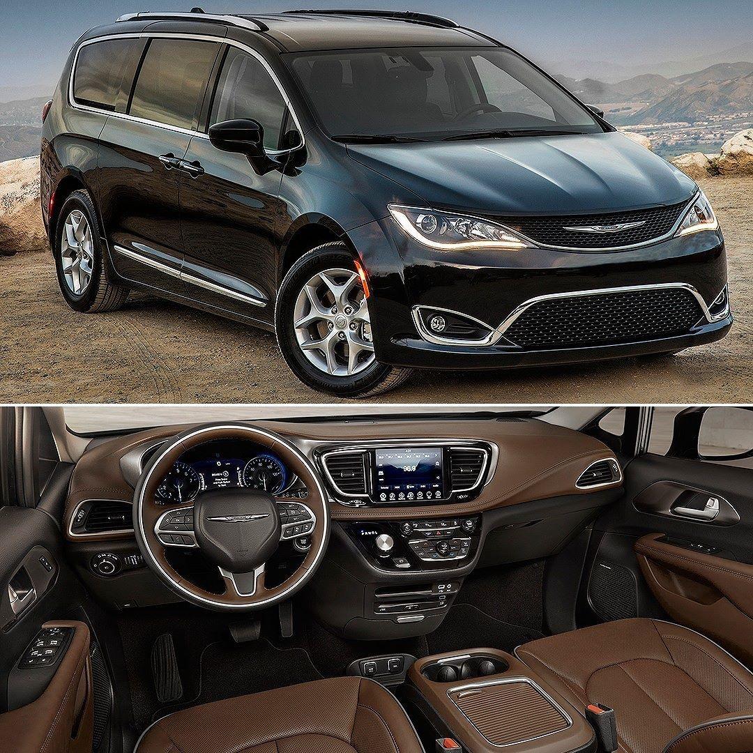 Chrysler Pacifica Touring Plus 2017 Minivan Ganha Uma Nova Versao