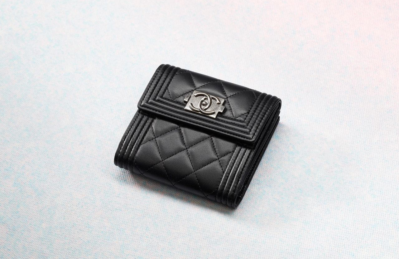 d8af3cccff2b Boy Chanel Small Wallet | About Bags | Chanel wallet, Chanel, Small ...