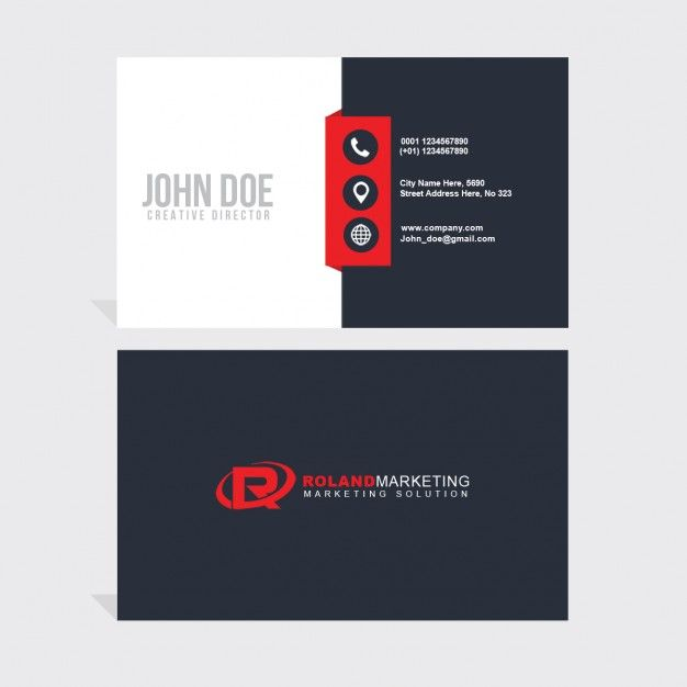 Red and black business card psd file free download red and black business card psd file free download colourmoves